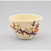 京焼梅絵茶碗