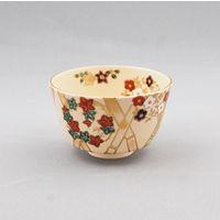 花丸草花茶碗