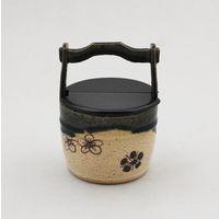 織部手桶茶器