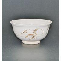絵唐津写菓子鉢