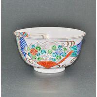 京焼扇面菓子鉢