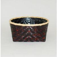 風炉用籐巻網代炭斗