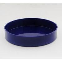 プラスチック丸水盤 紺