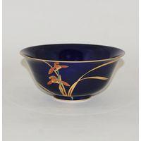 蘭絵菓子鉢