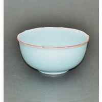 青磁輪花口菓子鉢