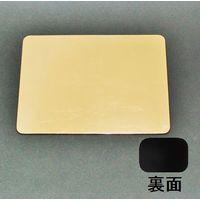 長角型プレート 金箔